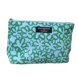 MARIMEKKO Clinique Makeup Bag Green & Blue